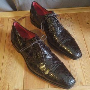 Mezlan Alligator Shoes Niagra Custom Size 11.5